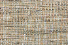 Abstract hay fabric beige textured background Stock Image