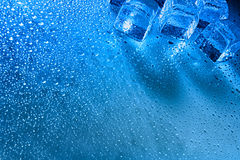 Abstract HDR backgrounds. With ice and water droplets Royalty Free Stock Images