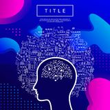 Abstract head note royalty free stock images