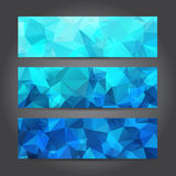 Abstract Header Background for Design Work, Vector Illustration Stock Photography