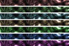 Abstract Header / Banner. Background in different colors Stock Photography
