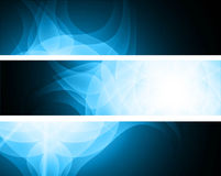 Abstract header colorful set  Royalty Free Stock Photography