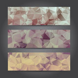 Abstract Header for Design Work, Vector Illustration Royalty Free Stock Photography