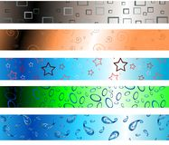 Abstract header Stock Images