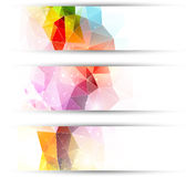 Abstract headers Stock Image