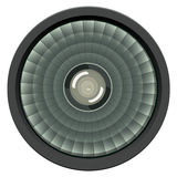 Abstract Headlight Isolated Royalty Free Stock Photography
