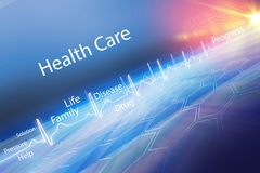Abstract health care background Concept Series 13. Abstract health care background, Suitable for Healthcare and Medical Topic News, 3d Render, 3d illustration royalty free illustration