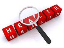 Abstract healthy sign Royalty Free Stock Photos