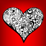 Abstract heart Royalty Free Stock Images