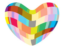 Abstract heart Royalty Free Stock Photos