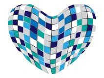 Abstract heart Stock Photo