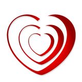 Abstract heart Stock Image
