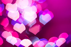 Abstract heart background Stock Images
