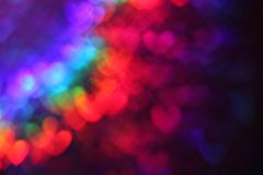 Abstract heart background stock photography