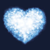 Abstract heart background Stock Image