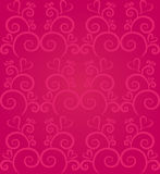 Abstract heart background in pink Stock Photography