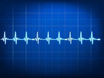 Abstract Heart Beats Cardiogram. EPS 10 Stock Images