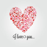 Abstract heart Stock Photography
