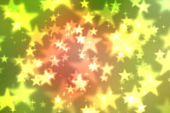 Abstract heart bokeh bright background Royalty Free Stock Photo