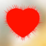 Abstract Heart Burst. Stock Photography