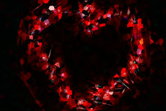 Abstract heart Royalty Free Stock Image