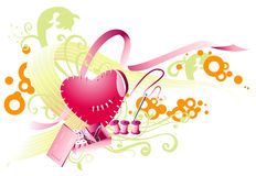 Abstract Heart Design Royalty Free Stock Image