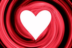 Abstract heart frame Stock Photography