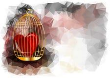Abstract heart Royalty Free Stock Photo