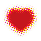 Abstract Heart (illustration) Royalty Free Stock Photos