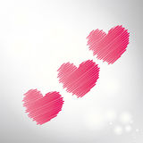 Abstract heart. Stock Images