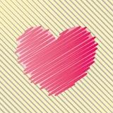 Abstract heart. Royalty Free Stock Photo