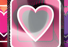 Abstract Heart illustration Royalty Free Stock Image