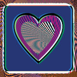 Abstract Heart illustration Stock Image