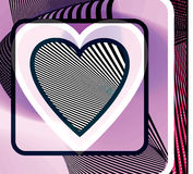 Abstract Heart illustration Royalty Free Stock Photography
