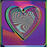 Abstract Heart illustration Stock Photography
