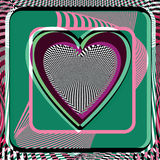 Abstract Heart illustration Royalty Free Stock Photo