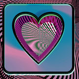 Abstract Heart illustration. Abstract colorful Heart vector illustration Royalty Free Stock Photography