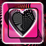 Abstract Heart illustration Royalty Free Stock Photos