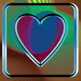 Abstract Heart illustration Stock Photos