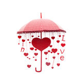 Abstract heart love Royalty Free Stock Photo