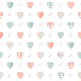 Abstract Heart Pattern stock images