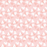 Abstract heart  pattern Royalty Free Stock Image