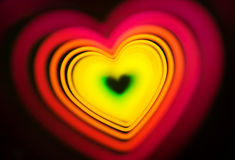Abstract heart photo Stock Photography