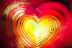 Abstract heart photo Royalty Free Stock Images
