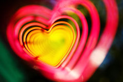 Abstract heart photo Royalty Free Stock Image