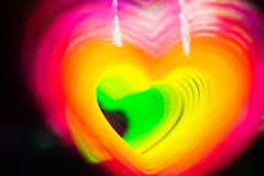 Abstract heart photo Stock Image