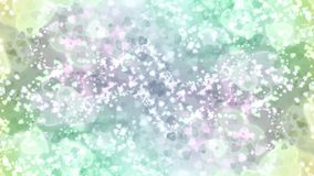 Abstract heart pink green colorful bokeh wallpaper Stock Images
