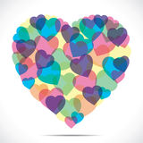 Abstract heart shape Stock Photo