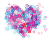 Abstract heart shape Royalty Free Stock Photo