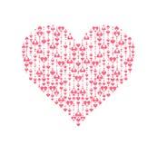 Abstract heart shape Stock Photo